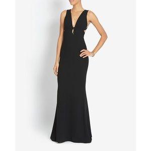 Intermix black Blair sleeveless gown size P
